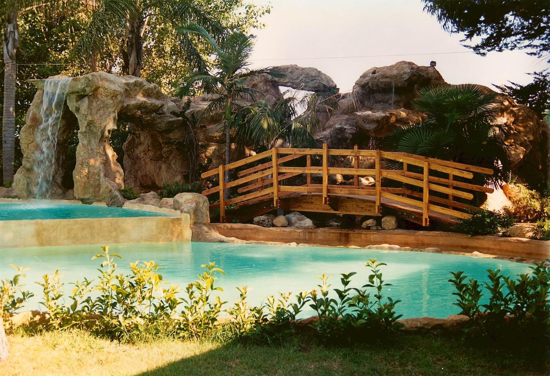 Parchi Acquatici realizzati con le rocce
